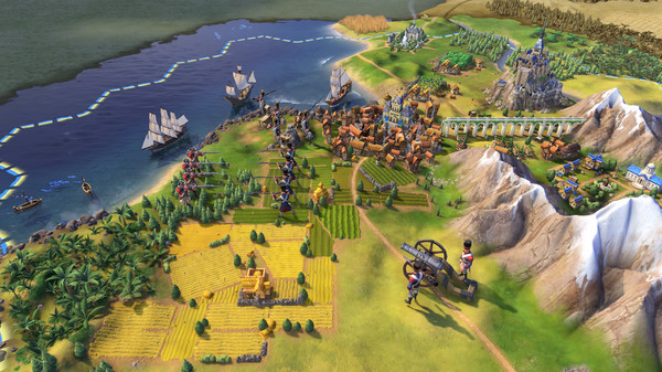 Купить лицензионный ключ Civilization VI 6 Deluxe Edition (Steam) RU/CIS на SteamNinja.ru
