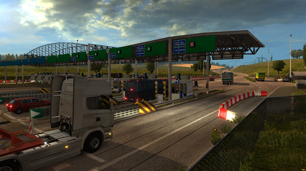Купить лицензионный ключ Euro Truck Simulator 2 Beyond the Baltic Sea ключ Steam на SteamNinja.ru